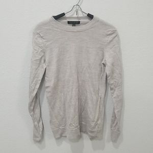 Banana Republic Merino Wool Crew Gray Sweater Sz S